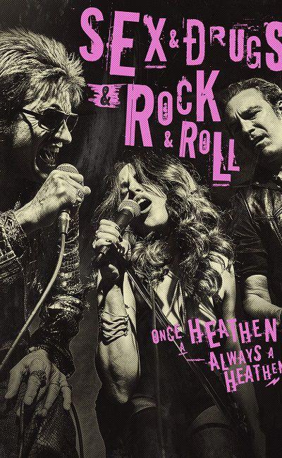 Секс, наркотики и рок-н-ролл постер